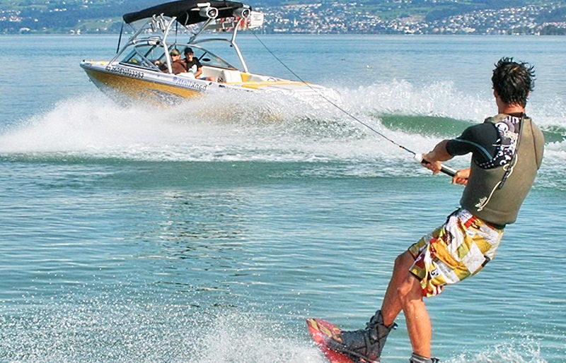 التزحلق على بحيرة جنيف