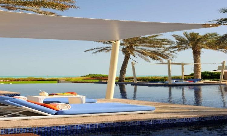 اجمل فنادق في ابوظبي مع مسبح خاص