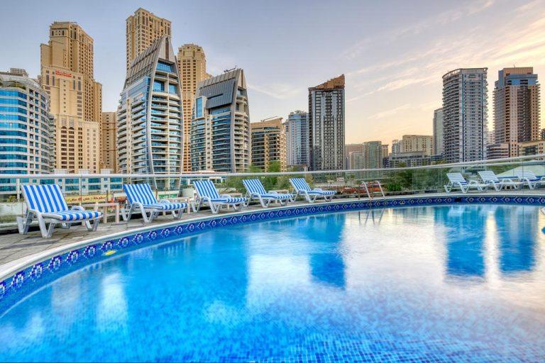 شقق فندقية دبي شارع الشيخ زايد