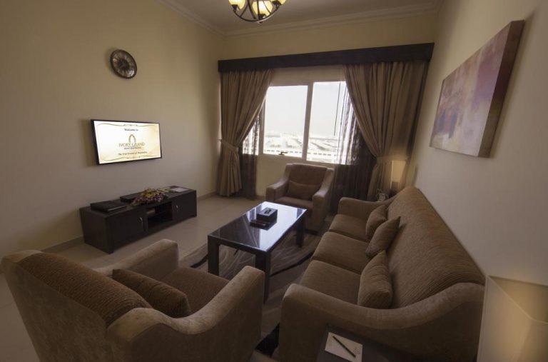 شقق فندقية دبي البرشاء