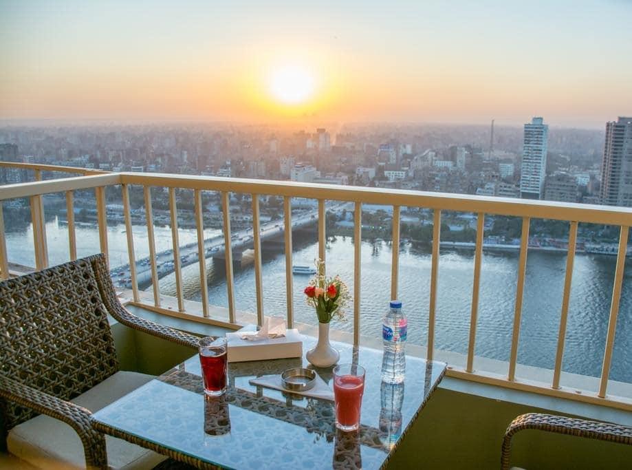 فندق على النيل رخيص