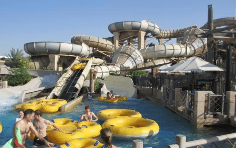 القرية المائية في دبي