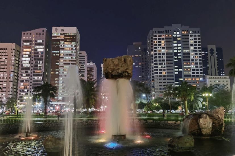 حديقة العاصمة ابوظبي