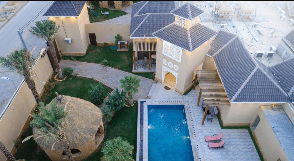 منتجعات في الرياض
